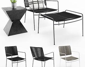 3D model Vesper Outdoor Chair