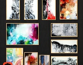 Abstract Painting 006 3D asset