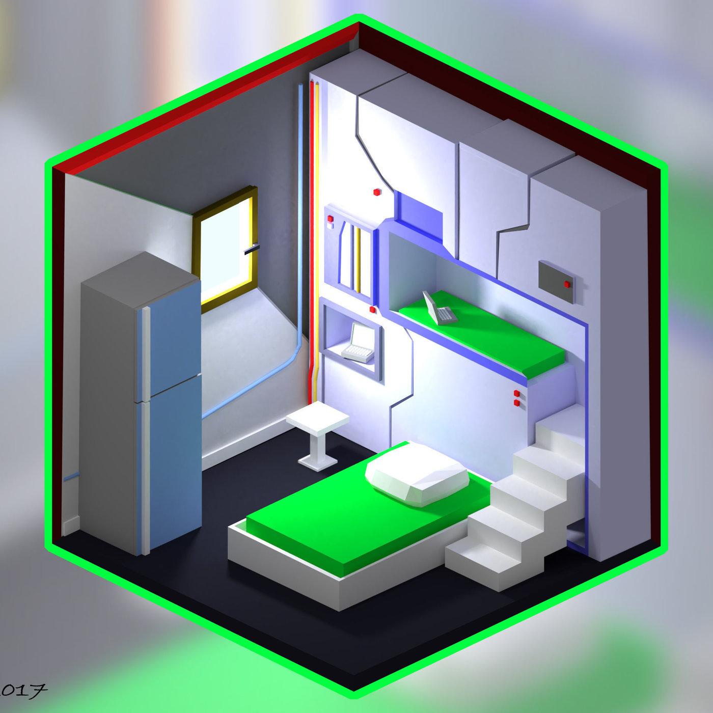 Lab bedroom
