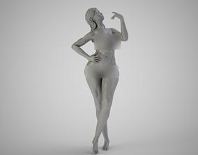 Thinking Woman 3D print model