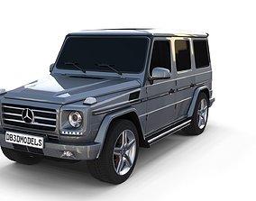 Mercedes Benz G Class Gray 3D
