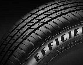 3D model Tire R16 - Goodyear Efficient Grip Performance