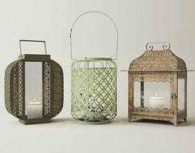 Metal Lanterns 2 3D