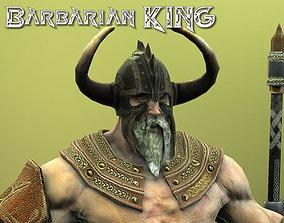 3D model Barbarian KING