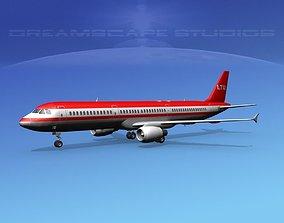 Airbus A321 LTU 2 3D model