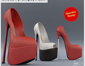 3D model Shoe 4-V2 Pumps