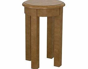 Avalon End Table Akin 3D
