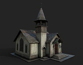 3D model Medieval Catholic Church