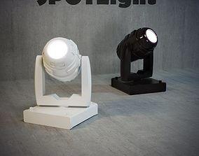 spot 3D model Spotlight