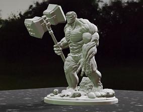 3D print model Hulk With Hammer