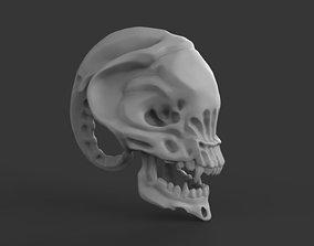3D print model Alien Skull Head