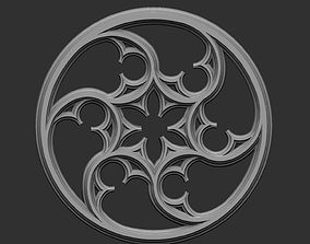 3D print model Gothic Tracery 2