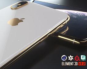 iPhone XS Max 3D asset