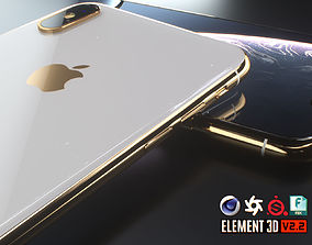 iPhone XS Max 3D model game-ready