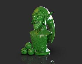 3D printable model Green Goblin Bust