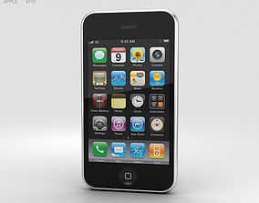 Apple iPhone 3G Black 3D
