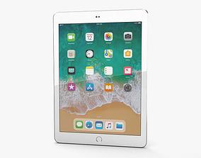 3D Apple iPad 9-7-inch 2018 Silver