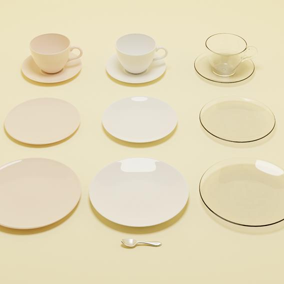 Porcelain kitchenware