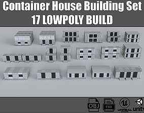 Container House Buildings Collection 3D model