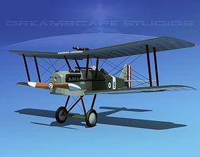 3D RAF SE-5A Fighter V12