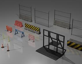 Barriers 3D model