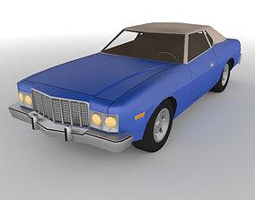 3D asset PolyCAR N36 lp1