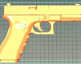 3D printable model PISTOL GLOCK 17