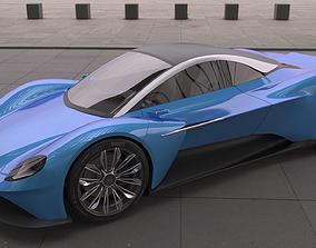 Aston Martin Vanquish Vision 2019 3D model