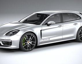 Porsche Panamera 4 e-hybrid Sport Turismo 2021 3D