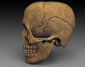 Skull horror 3D model