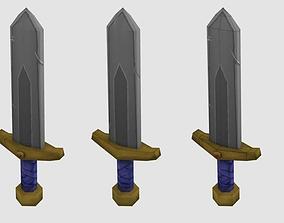 Blade 3D asset game-ready