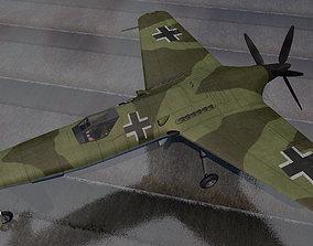 3D Henschel Hs-P-75