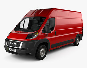 Ram ProMaster Cargo Van L3H2 2019 3D