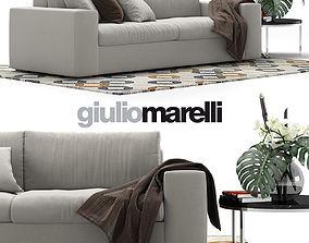Giulio Marelli Epika 2-x sofa 3D model