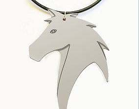 HORSE HEAD NECK CHAIN 3D printable model