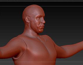 Vin Diesel - Dominic this is Brazil 3D printable model 3