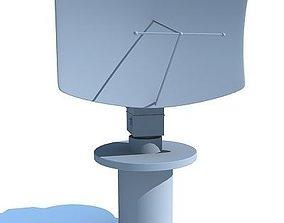 Radar 2 3D model