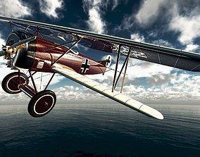 3D printable model Fokker D VII German fighter plane