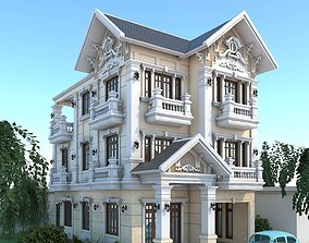 Residential Building pallace 3D