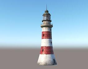 shore Lighthouse 3D model PBR
