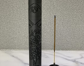 3D printable model incense holder by TITAN Corporation