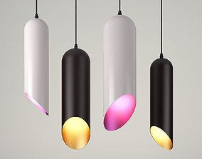 Pipe Pendant Light 3D