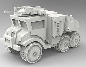 Cars - armored truck 3D printable model