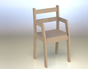 3D Small chair asm