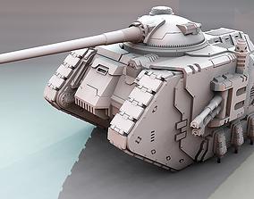 3D printable model Terran Artemis Battle Tank