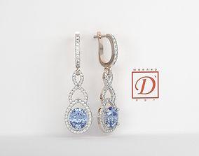 Earrings 3D printable model