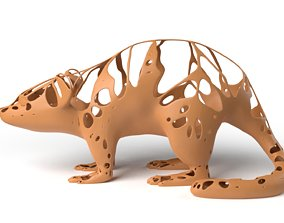 Mouse Dust Voronoi 3D model