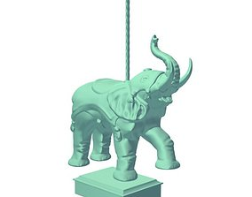 CarouselAnimalElephant 3D print model