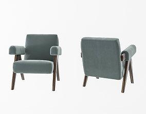 3D model Modern single chair