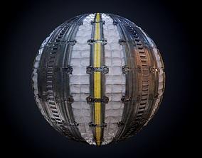 3D Sci-Fi Military Seamless PBR Texture 42